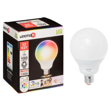 Żarówka LED SMART E27 (230 V) 12 W 1055 lm LEXMAN