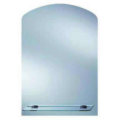 Lustro łazienkowe bez oświetlenia TOALETKA Z PÓŁKĄ 44 x 63 DUBIEL VITRUM