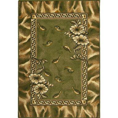 Dywan TRIO zielony 160 x 220 cm wys. runa 6 mm WELTOM