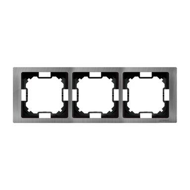 Ramka potrójna SIMON BASIC  Tytan  KONTAKT SIMON
