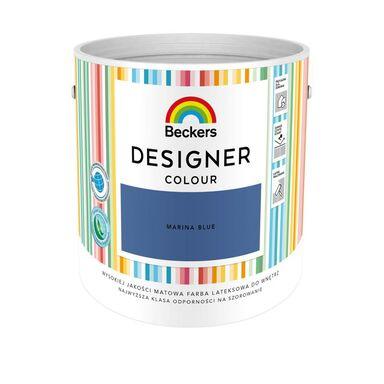 Farba wewnętrzna DESIGNER COLOUR 2.5 l Marina Blue BECKERS