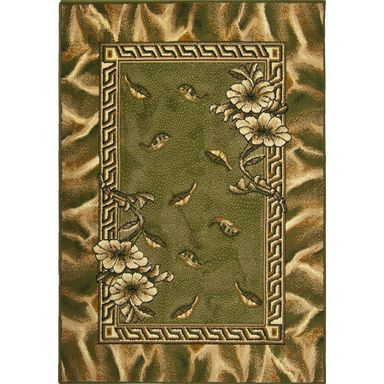 Dywan TRIO zielony 115 x 170 cm wys. runa 6 mm WELTOM