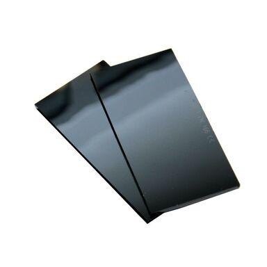 Szkło ochronne ciemne do tarcz spawalniczych 50x100 DIN 9 MOST