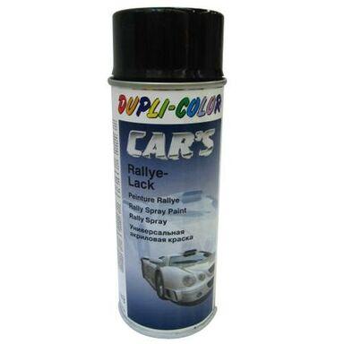 Lakier samochodowy w sprayu CARS RALLY 400 ml Czarny Półmat DUPLI COLOR