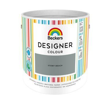 Farba wewnętrzna DESIGNER COLOUR 2.5 l Stony Beach BECKERS