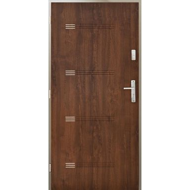 Drzwi wejściowe IZYDA Orzech 80 Lewe PANTOR