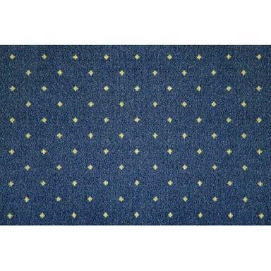 Wykładzina dywanowa MAJESTIC niebieska 5 m