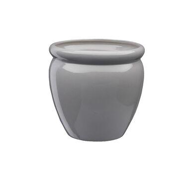 Doniczka ceramiczna 22 cm szara MUZA 4 J22 EKO-CERAMIKA