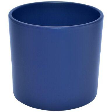 Osłonka ceramiczna 23.3 cm atramentowa WALEC