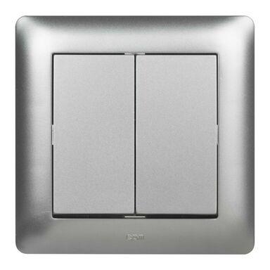 Wyłącznik ASTORIA srebrny ELEKTRO-PLAST