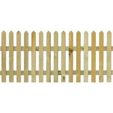 Płot sztachetowy 180x120 cm drewniany FILEMON SOBEX