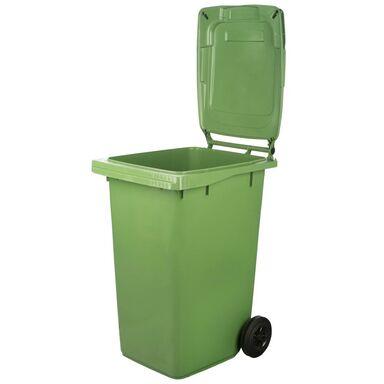 Pojemnik na odpady szklane MGB 240L zielony