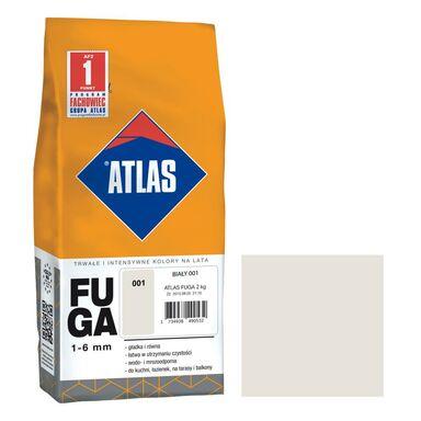 Fuga cementowa 001  biały  2 kg ATLAS