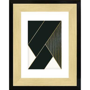 Ramka na zdjęcia FARVET 21 x 29.7 cm czarno - złota
