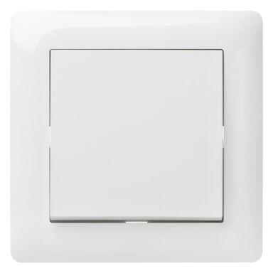 Włącznik pojedynczy schodowy ASTORIA  biały  ELEKTRO-PLAST