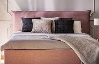 Sypialnia otulona tkaninami