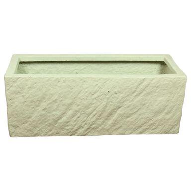 Doniczka betonowa 55 x 20 cm biała MPSS SKRZYNKA CERMAX