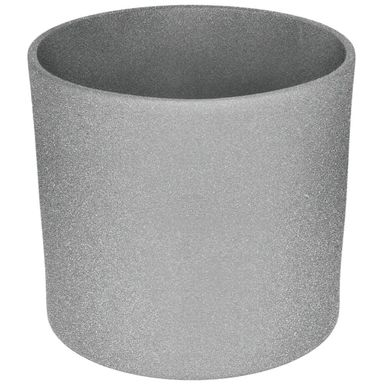 Osłonka ceramiczna 19.4 cm szara WALEC