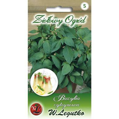 Bazylia cytrynowa nasiona tradycyjne 0.5 g W. LEGUTKO