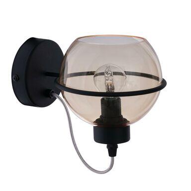 Kinkiet POBO NEW szkło herbaciane E27 TK LIGHTING