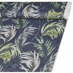 Tkanina leżakowa na mb TENTURE zielona w liście szer. 160 cm