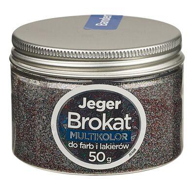 Dodatek strukturalny do farb i lakierów BROKAT 50 g Multikolor JEGER