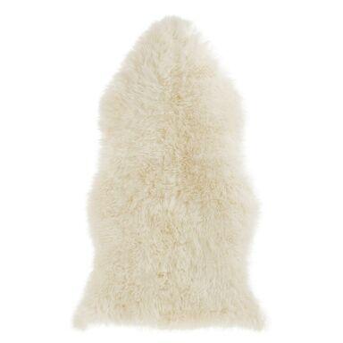 Skóra naturalna owcza biała 55 x 95 cm Inspire