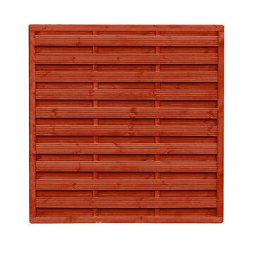Płot szczelny 180x180 cm drewniany WIEN WERTH-HOLZ