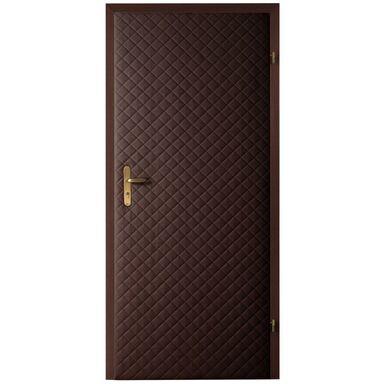 Tapicerka drzwiowa karo 5*5 czekolada T3K-CZEK szer. 105  wys. 210 cm