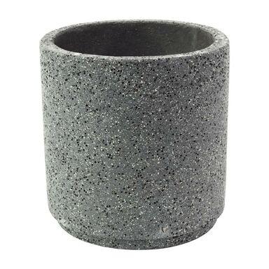 Doniczka betonowa 47 cm grafitowa MBS CYLINDER CERMAX