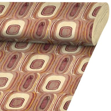 Tkanina bawełniana na mb Jaiko pomarańczowa szer. 140 cm Inspire