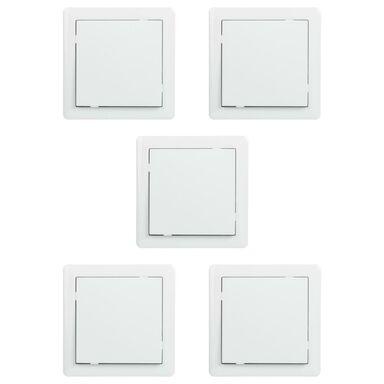 Włącznik pojedynczy 5PAK SLIM  Biały  LEXMAN