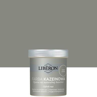 Farba do drewna KAZEINOWA 0.5 l Szara alpaka Mat LIBERON