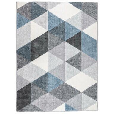 Dywan VISTA szaro-niebieski 120 x 160 cm