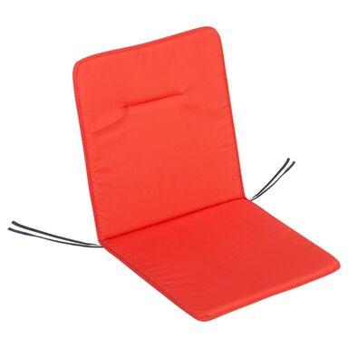 Poduszka na fotel 45 x 92 x 2 cm koralowa