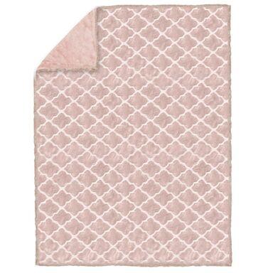 Koc GOYA różowy 200 x 220 cm