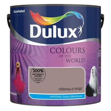 Farba wewnętrzna 2.5 l Różowy a Brąz DULUX