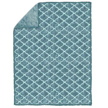 Koc GOYA niebieski 200 x 220 cm