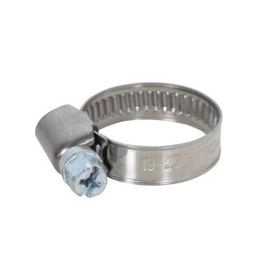 Opaska metalowa nierdzewna taśmowa 19 - 25 mm 2 szt.