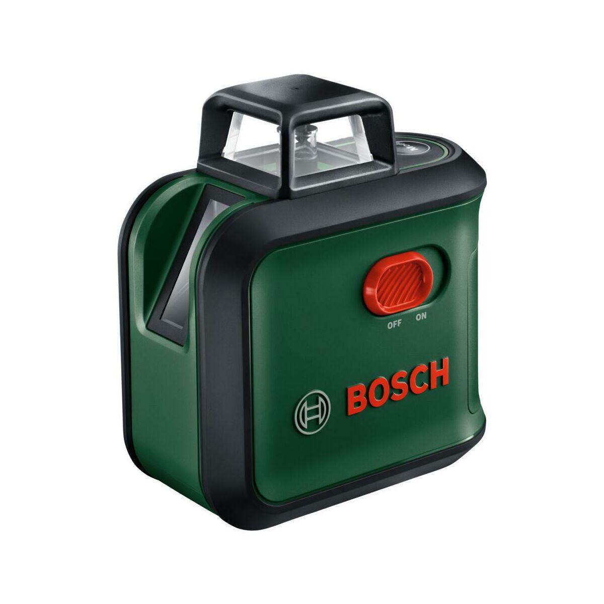 Laser Krzyzowy Advlevel 360 Statyw Tt 150 Bosch Urzadzenia Laserowe W Atrakcyjnej Cenie W Sklepach Leroy Merlin