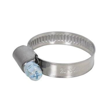 Opaska metalowa nierdzewna taśmowa 25 - 35 mm 2 szt.