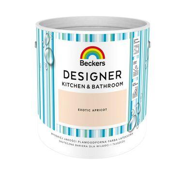 Farba wewnętrzna DESIGNER KITCHEN & BATHROOM 2.5 l Exotic Apricot BECKERS