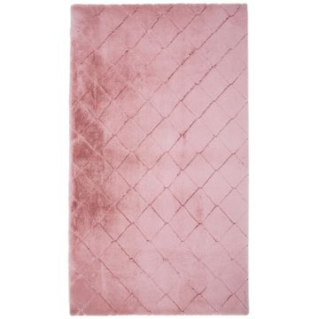 Dywan shaggy MODENA różowy 80 x 140 cm