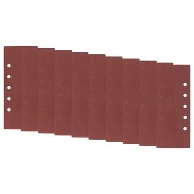 Papier ścierny z otworami 5+5 5+5 gr: 180dł. 280  szer. 115  DEXTER
