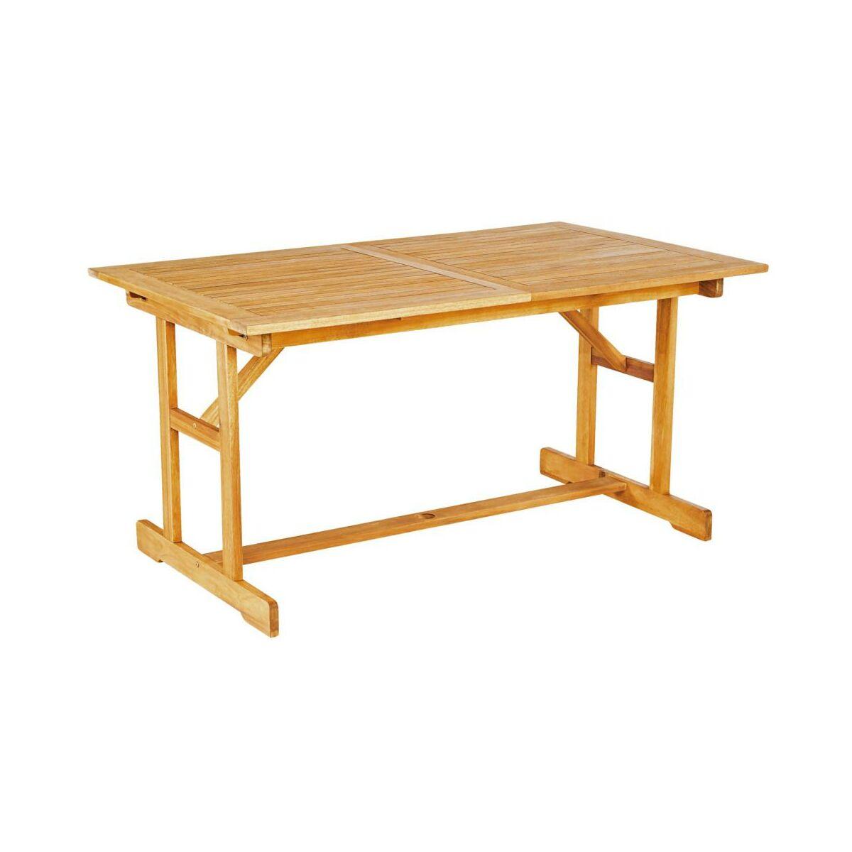 Stół ogrodowy 90 x 150-210 cm PORTO NATERIAL rozsuwany