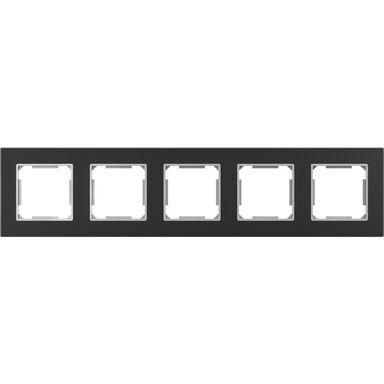 Ramka pięciokrotna EDG1005GB  czarny  LEXMAN