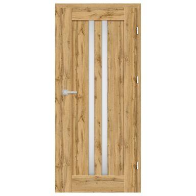 Skrzydło drzwiowe pokojowe Cordoba Dąb Wotan 80 Prawe Nawadoor
