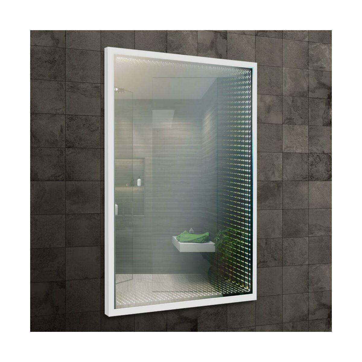 Lustro łazienkowe Venti Matrix 3d Z Oświetleniem 60x88 Leroy Merlin