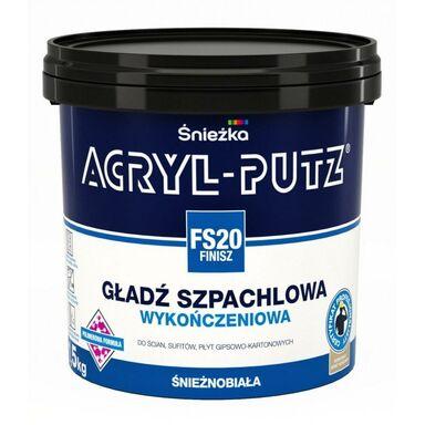 Gładź szpachlowa ACRYL-PUTZ FS20 FINISZ ŚNIEŻKA