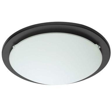 Plafon ICEBERG 29 cm czarny okrągły E27 INSPIRE